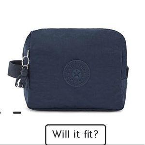 Brand new Kipling Parac Small Toiletry Bag Navy